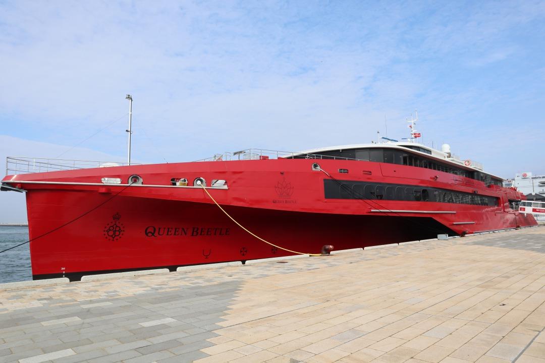 新型高速船「QUEEN BEETLE(クイーンビートル)」を徹底調査!|九州への ...